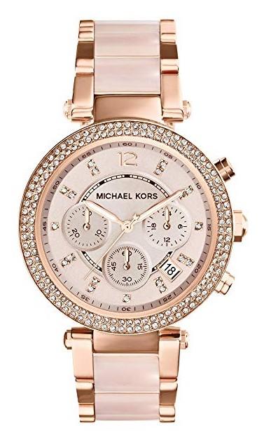 Michael Kors Rose Gold Womens Watch