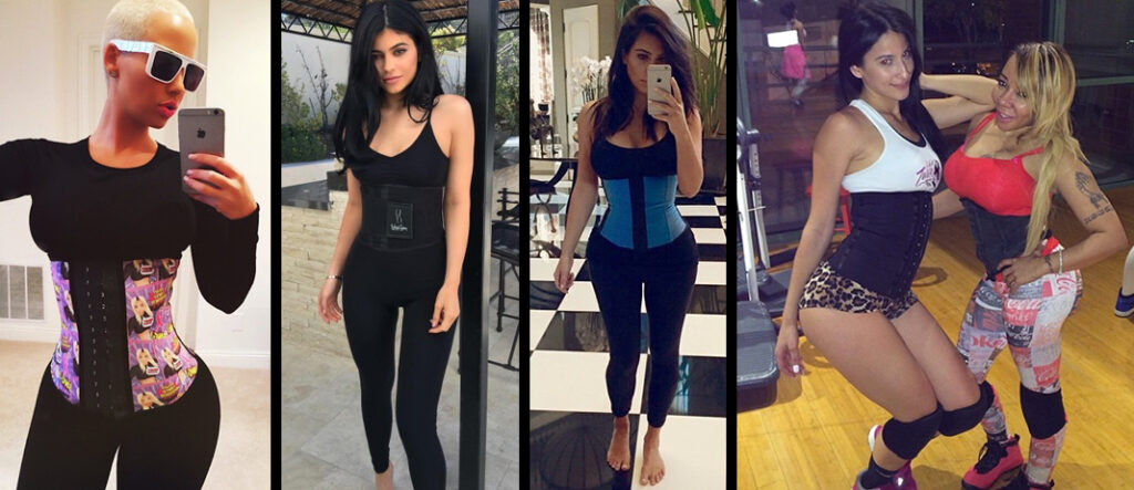 Celebrities Wearing Body Waist Trainers
